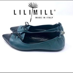 🌺 Lili Mill Made in Italy Ballet Flats Size 37
